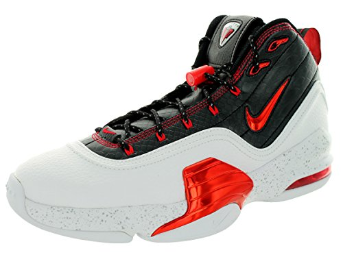 Nike Mænds Pippen 6 Basketball Sko Hvid / Universitet Rød / Sort av4mC0viA