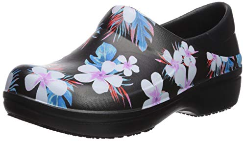 Noir black Graphic Femme Women Ii Clog Crocs Neria Floral 98f Pro Sabots tropical qFtgPwn8