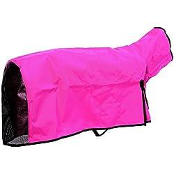 Cordura Sheep Blanket - Large (Mesh Butt) in Hot Pink
