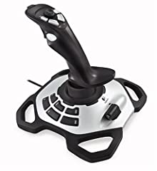 When the pressure is on, your stick performance is the difference between victory and total oblivion. The Extreme 3D Pro twist handle joystick will never let you down. The 12 programmable buttons and 8-way rubber hat switch give you optimum c...