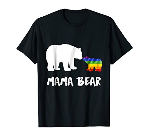 LGBT Mama Bear Mom Lesbian Gay Bisexual Transgender T-Shirt