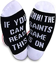 Football Socks If You Can Read This The Soccer Game is On Football Gift Funny Birthday Gift