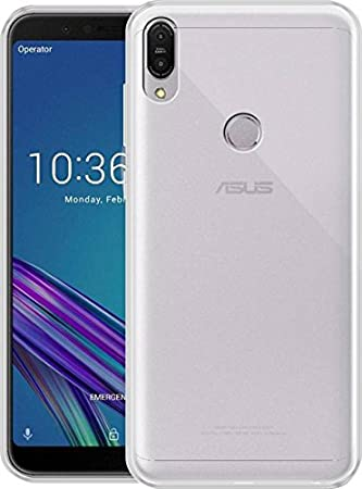 S Hardline Transparent Back Cover for Asus Zenfone Max Pro M1