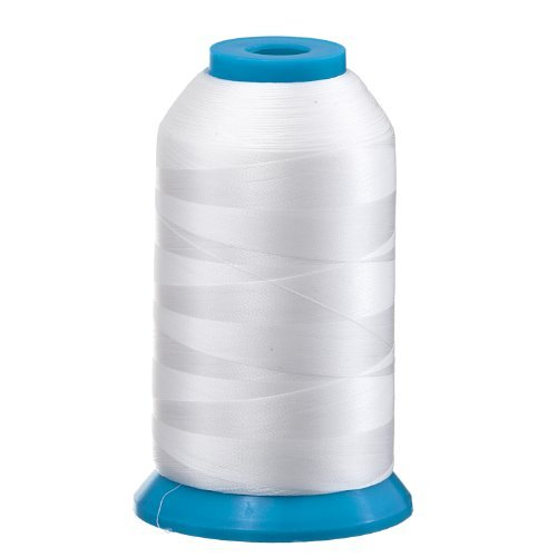 Huge Spool WHITE Embroidery Machine BOBBIN THREAD