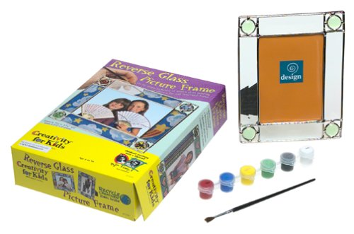 Creativity for Kids Reverse Glass Picture Frame - Reverse Glasses