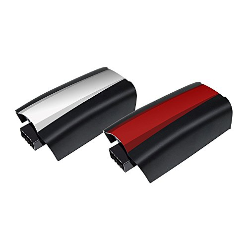 Turpow 2 Pack 3100mAh Replacement Battery for Parrot Bebop 2 Drone with White & Red Stickers