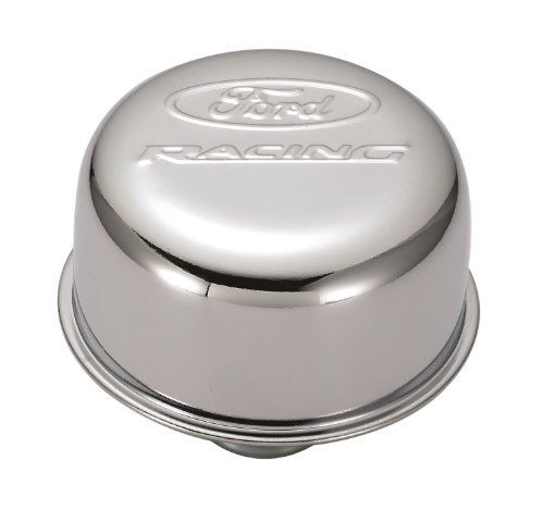 Proform 302-215 Chrome Push-In Air Breather - Cap Breather Air