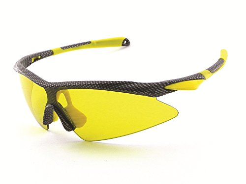 Chili's Eye Gear SHARPTAIL Sport Shield L91602 Shatterproof - Chili Sunglasses