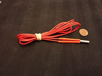 1pc Reprap 12v 40w Ceramic Cartridge Heater for 3d Printer Prusa Mendel up A9