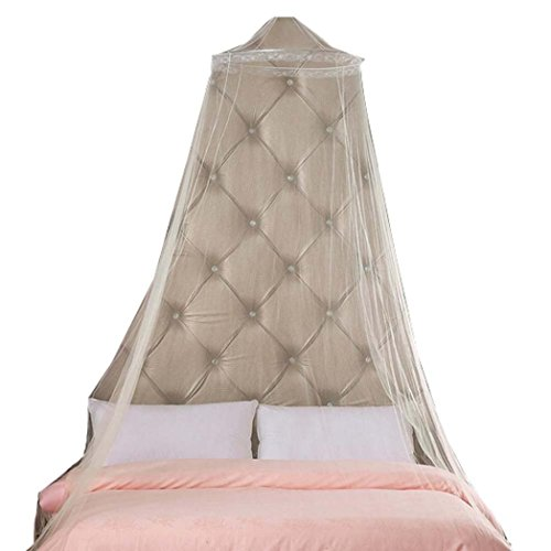 Fineser Circular Hanging Round Lace Bed Canopy Netting Bedroom Decorative Dome Mosquito Net from Fineser