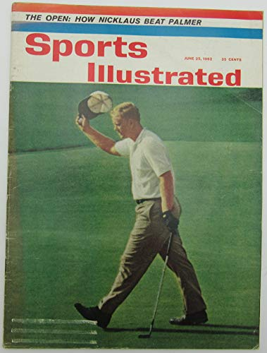 1962 Sports Illustrated Magazine with Jack Nicklaus Golfer on Cover 144459 1962 Sports Illustrated Magazine