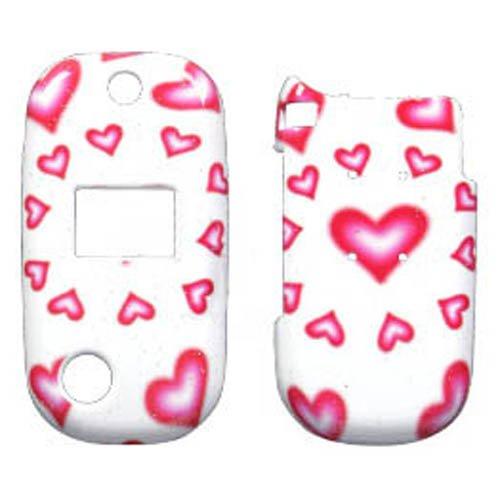 - Hard Plastic Snap on Cover Fits Utstarcom 8935 Mini Hearts(Sparkle)