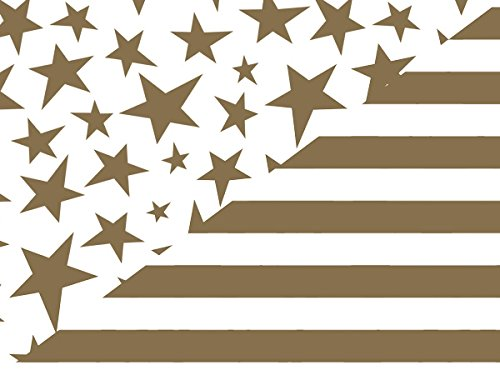 Gold Stars & Bold Stripe 24''x417' by Nas