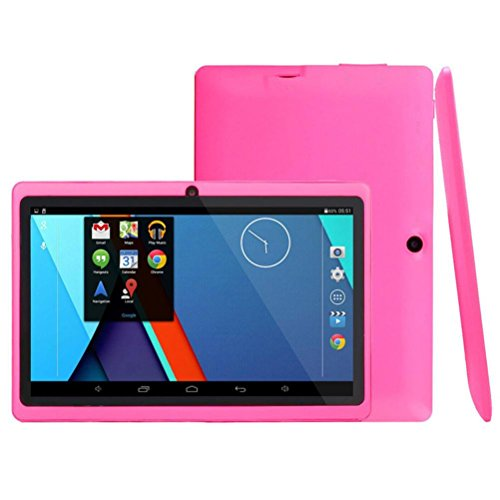 NeuTab 7-Inch Quad Core WIFI Tablet PC,Aritone Google Android 4.4 Tablet PC 1GB + 8GB Camera/Wifi/Bluetooth (Pink)
