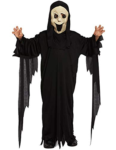 MA ONLINE Kids Children Scary Halloween Scream Party Wear Demon Ghost Costume Outfit Dress 10-12 Years