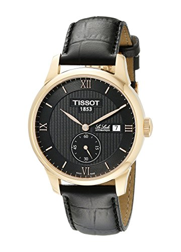 Tissot Men's T0064283605801 Le Locle Analog Display Swiss Automatic Black Watch