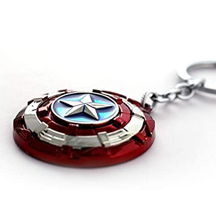 Amazon.com: FITIONS - 12pcs/lot Key Chain Rotate Captain ...