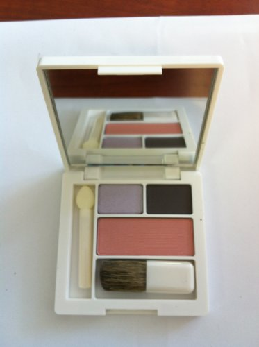 Clinique Colour Surge Eye Shadow Duo /Blackberry Frost and Stay Matte 0.09oz/1g & Pink Blush 0.06oz/1.8g
