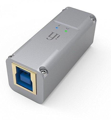 (iFi iPurifier3 USB Audio and Data Signal Filter (USB Male Type B, White))