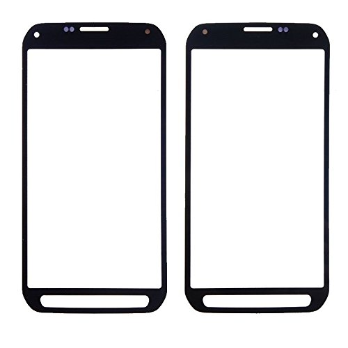 Front cover Screen Glass Lens for Samsung Galaxy S5 Active G870 G870A with free tools (Not include LCD and Digitizer) (Black)