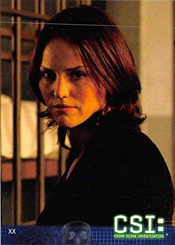Jorja Fox Sara Sidle Trading Card Csi Las Vegas 2004 42 At Amazon S Entertainment Collectibles Store