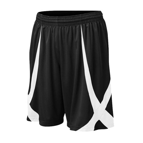 TopTie Men's Basketball Shorts, Active Running Shorts, Jersey Short, No Pockets