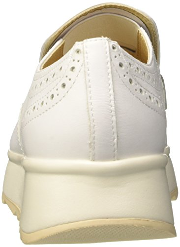 Geox Damen D Gendry B Slipper Weiss (wit)