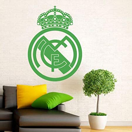 Utopiashi Pelota de Futbol Football Club Real Madrid Logo Vinyl ...