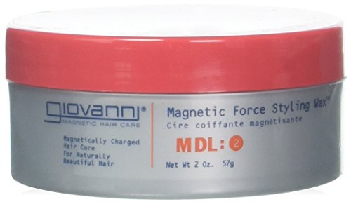 GIOVANNI COSMETICS MAGNETIC HAIR CARE - Magnetic Force Styling Wax, 2 Ounce / 57 Grams
