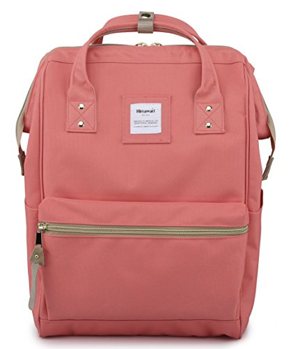 Himawari Travel Backpack Laptop Backpack Large Diaper Bag Doctor Bag Backpack School Backpack for Women&Men (xk watermelon red) (Best Travel Diaper Backpack)