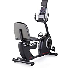 Delivering superior comfort, this bike boosts cardio and increases performance. Featuring a recumbent design, the chair-like seat offers Lumbar support so you can train harder, longer and better. Plus, this bike is compatible with iFit techno...