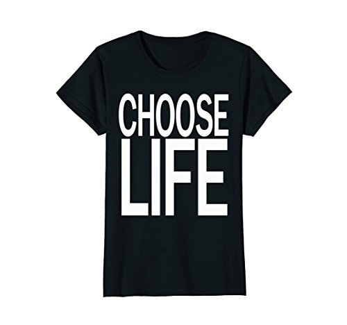 Womens Choose Life Wham! 80s T Shirt - 5 colors
