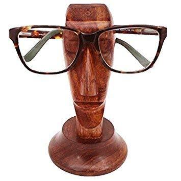 Porta occhiali Bignay in legno fatti a mano porta occhiali da vista Design porta occhiali in legno per uomini e donne