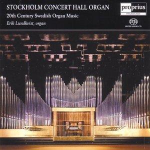 SACD : Erik Lundkvist - Stockholm Concert Hall Organ (Hybrid SACD)
