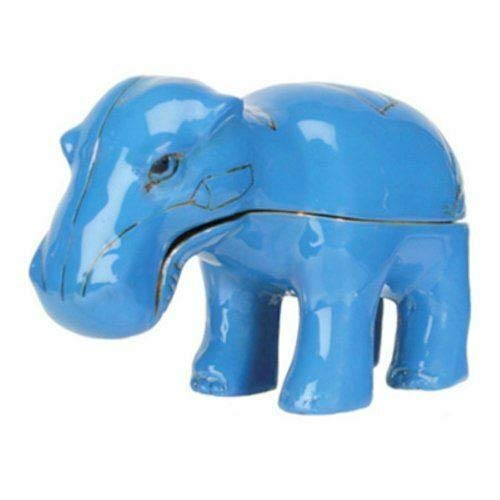 ShopForAllYou Figurines and Statues Egyptian Hippo Jeweled Box - Collectible Egypt Jewelry Container