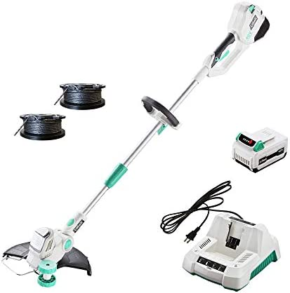 LiTHELi 40V 13 inches Cordless String Trimmer with 2.5AH Battery and Charger