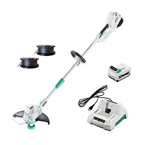 LiTHELi 40V Cordless String Trimmer 13 inches with 2.5AH Battery and Charger