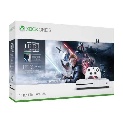 Xbox One S 1TB Console - Star Wars Jedi: Fallen Order Bundle (Games Xbox Video Console)