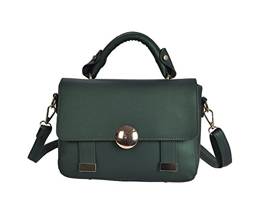 amp; A Womens Body Summmer Cross N verde Soft Material Matte Simple Handbag 4qqwSrHd