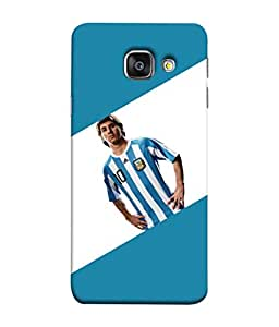 ColorKing Football Messi Argentina 08 Multicolor shell case cover for Samsung A5 2016