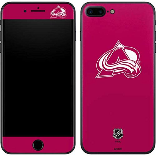 NHL Colorado Avalanche iPhone 7 Plus Skin - Colorado Avalanche Color Pop Vinyl Decal Skin For Your iPhone 7 Plus