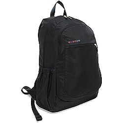 J World BENSON Laptop Backpack in Black