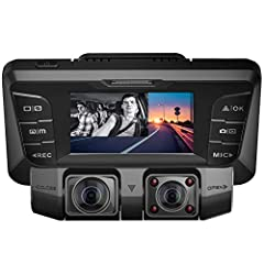 Specifications:LCD Screen Size: 2.7 Inches Lens: 150+150 Degrees Dual Lens Video Resolution: 2160P UHD (Only Front) / 1440P QHD (Only Front) / 1080P FHD + 1080P FHD (Dual Camera) / 720P HD + 720P HD (Dual Camera)File Format: Video: MOVLoop Re...