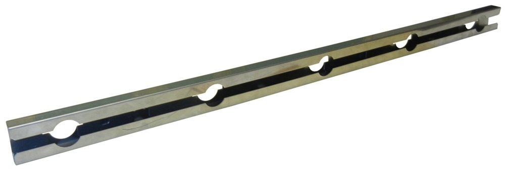 Music City Metals 08012 Stainless Steel Burner Replacement for Select Gas Grill Models by Broil-Mate, Huntington and Others