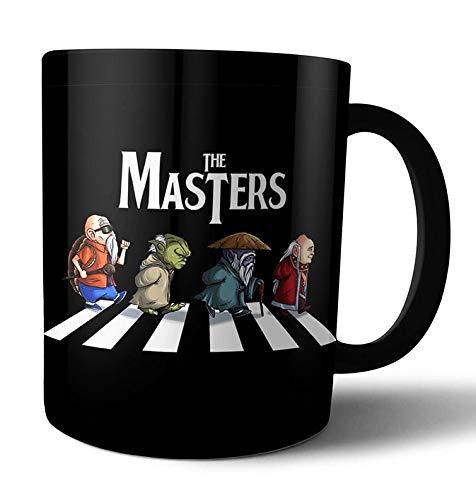 Caneca de porcelana Mestres Dohko Magos Kame Yoda