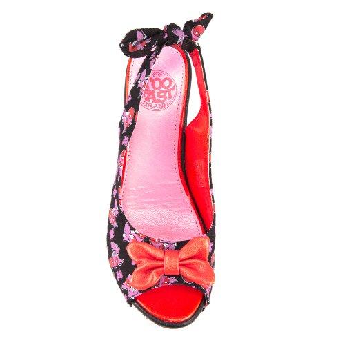 Fast Sandales Noir Too Femme Pour nwqO7