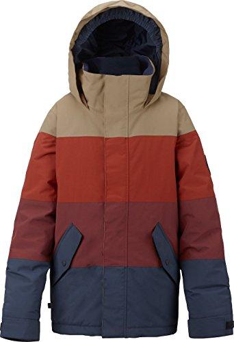 Burton Symbol Snowboard Jacket, Boys', Symbol Jacket, Mood Indigo/Fired...