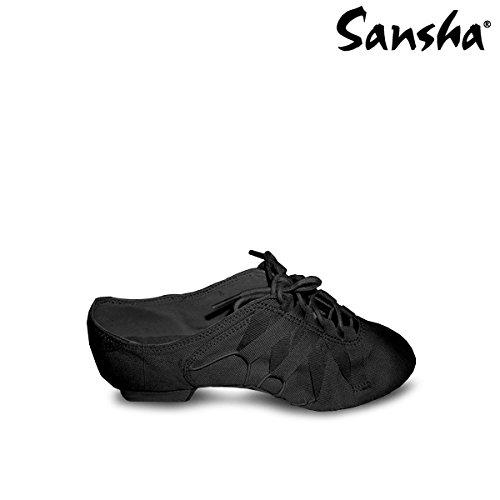 b0415d79 Sansha js46 C máquina Zapatos de Jazz Mujer: Amazon.es: Deportes y aire  libre