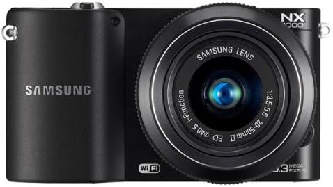 Samsung NX1000 - Cámara de Fotos compacta híbrida (20,3 Mpx, Wi-Fi ...