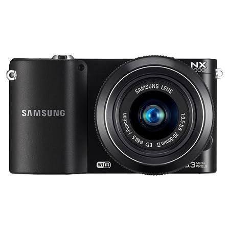 Samsung NX 1000 + 20-50 mm - Cámara Evil Digital (20.3 MP, MILC ...